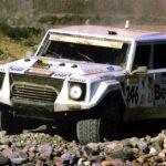 El Lamborghini que intentó conquistar el Dakar