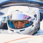 Juan Manuel Correa moldeó su asiento para conducir un Fórmula 1