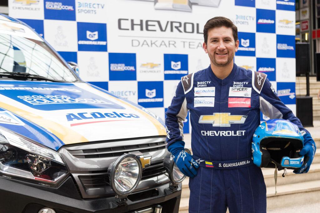 Sebastián Guayasamín enfrentará el Dakar 2020 con un auto nuevo y equipo renovado