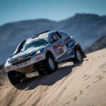 Sebastián Guayasamín está a un paso de terminar su sexto Dakar
