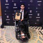 Juan Manuel Correa es premiado por la FIA Americas Awards