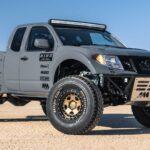 ¡Este prototipo de Nissan Frontier promete 600 caballos de fuerza!